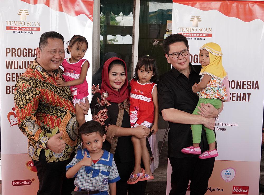 Tempo Scan Group Gelar Program Wujudkan Generasi Indonesia Bergizi dan Sehat